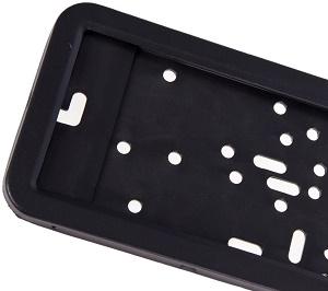 Металлическая рамка черная